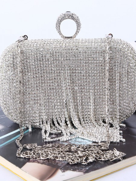 Luxueuse Faux diamants Sacs à main