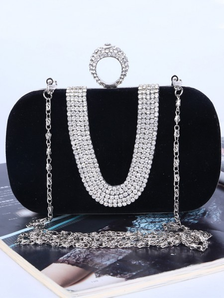 Tendance Faux diamants Sacs à main