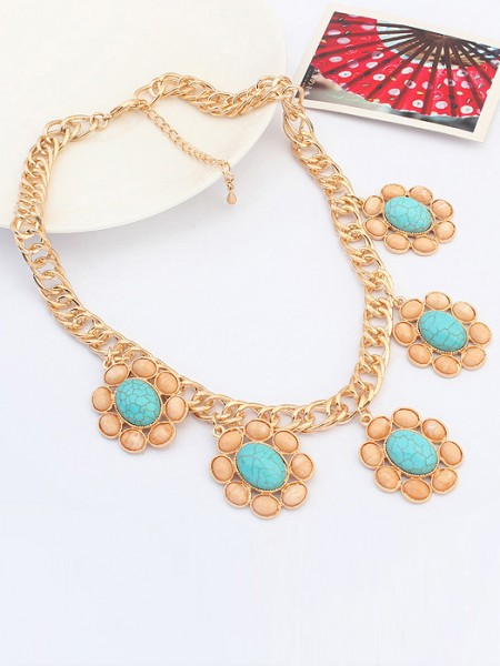 Occident Exotic Retro Grosses soldes Collier