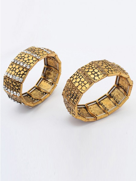 Occident Exotic Personality Wide version Elasticity Grosses soldes Bracelet